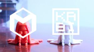 MakiBox 3D Printing Time Lapse Video by Kabiscube