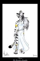 Tigress -Print Availabe- by FaluuVaud