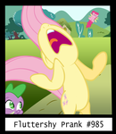 Fluttershy - WHO TOOK MY WINGS?! by PyschedelicSkooma