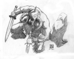 barbarian by chclaudino