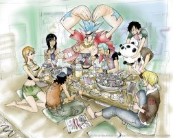 One Piece coloring job by ChibiBee