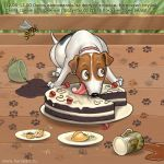 Big story of a small dog#4 by Fable-Art