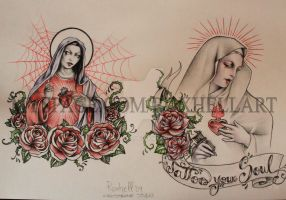 Holy Mary by roxhell