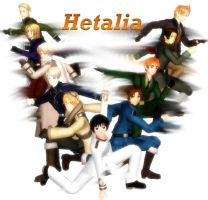 Hetalia MMD - CD Cover by YuMoriChii