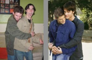 Sam and Dean Wincest Cosplay by muffla
