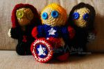 Captain America - The Winter Soldier Plushies by DorianECGordon