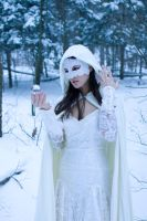 snow and lace and crystal by eyefeather-stock