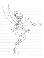 Stevie's tinkerbell WIP by Blacklucky13