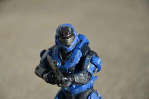 Blue Mark V spartan by REDNOBLE6