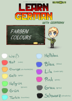 Learn German - Colours by TaNa-Jo