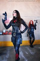 G.I. Joe - Scarlett cosplay 7 by ShadeNinja