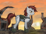 Bane the Tacticool Pony by Great-5