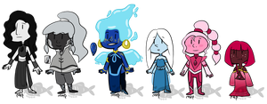 Gem Adopts (CLOSED) by Veggeh