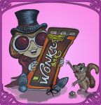 Willy Wonka Chibi [Johnny Depp version] by Never2Wonderland