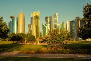 Qatar - Doha - West Bay - Early Morning - 02 by GiardQatar