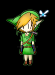 The legend of zelda Link by marcy119
