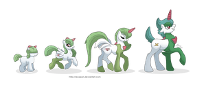 Emotion Family Ponikemon by MySweetQueen