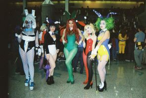 Arkham City Bunny Girls by coreybrown1994