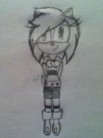Spark the Hedgehog (uncolored version) by Yoohoo-alcoholic