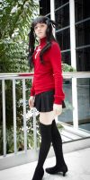 Rin Tohsaka Cosplay by HatterSisters