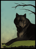Spring Wolf by Maeocy
