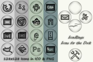 Icon Rings - Icons for the Dock by rvc-2011