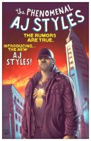 AJ Styles: The Rumors Are True by MarkPoulton