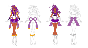 Sailor Astraea Concept Art I by The-Devil-Butterfly