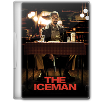 The Iceman (2012) Movie DVD Icon by A-Jaded-Smithy