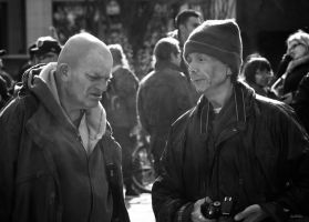 Occupy Toronto - friendship by Jack-Nobre