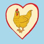 Chicken Love by Where4artLaura