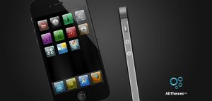 Apple iPhone 4S illustration by ait-themes