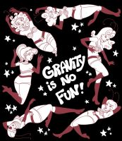 Gravity Is No Fun by rosalarian