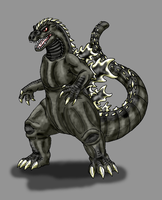Godzilla by Scatha-the-Worm