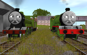 Railway Series meets Television Series: Henry MKI by Sergeant-Sunflower
