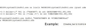 Take Ownership And Backup With Date And Time CMD by E-MC-2
