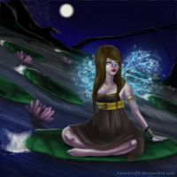 Fairy of the Lake by AKira1189