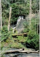 fire's creek falls 2, nc by miblover334
