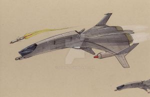 EU Daesault AF-30 Fighter by Jepray