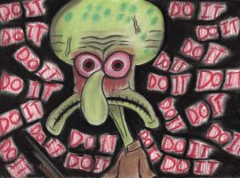 Squidward's Suicide by charcoalman