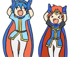Marth Roy caramel dansen by SparxPunx