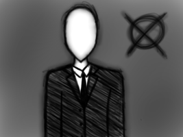 'The Operator' from Marble Hornets by Six-of-Harts