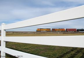 BNSF 9961 and BNSF 5213 lead Loaded Ethanol by EternalFlame1891