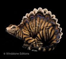 Tiger Stegosaurus by Reptangle