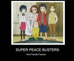 Super Peace Busters Anohana by icygirl599