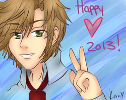 First Drawing Of The New Year!!! by SakuraiSamurai