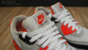 Nike Air Max 90 Infrared 3 by BBoyKai91