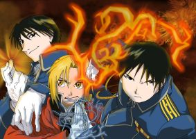 Roy Mustang Wallpaper by co-boldt