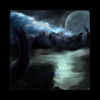 The Mist Moon by rainvine