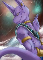 DRAGON BALL SUPER - Beerus the God of Destruction by RedViolett